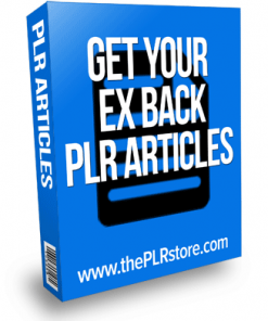 get your ex back plr articles