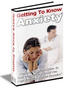 getting to know anxiety plr ebook