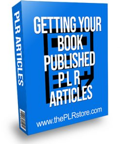 Getting Your Book Published PLR Articles