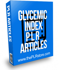 Glycemic Index PLR Articles
