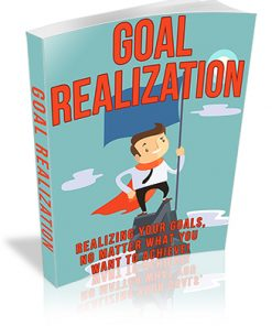 Goal Realization PLR Ebook