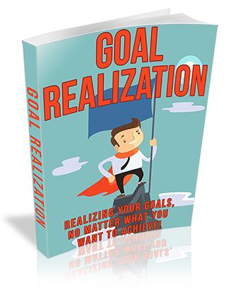 Goal Realization PLR Ebook