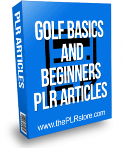 Golf Basics and Beginners PLR Articles