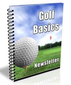 Golf Basics PLR Autoresponder Messages