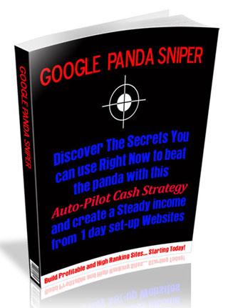 google panda sniper plr ebook