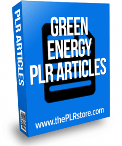 green energy plr articles