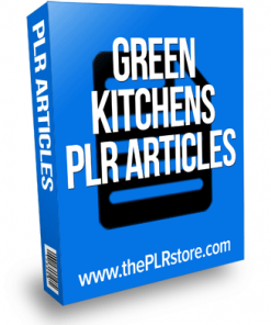 green kitchens plr articles