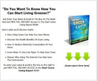 private label rights Private Label Rights and PLR Products green living plr listbuilding package squeeze page 190x159