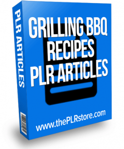 grilling barbecue recipes plr articles