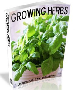growing herbs plr ebook