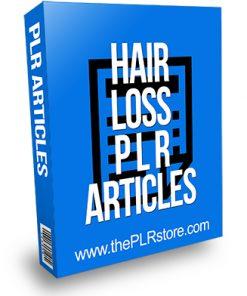 Hair Loss PLR Articles