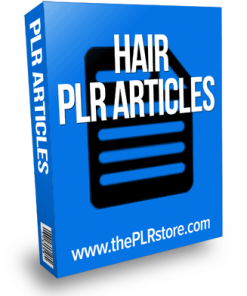 hair plr articles