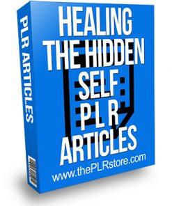 Healing the Hidden Self PLR Articles