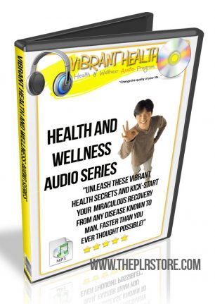 Health and Wellness PLR Audio with Private Label Rights health and wellness plr audio cover 306x431