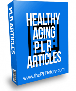 Healthy Aging PLR Articles