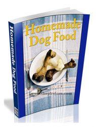 healthy homemade dog food plr ebook