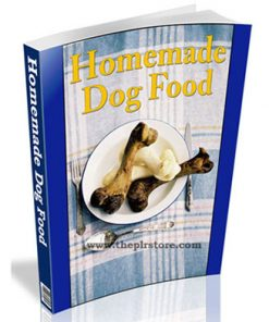 healthy homemade dog food plr ebook