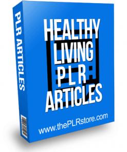 healthy living plr articles