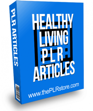 healthy living plr articles