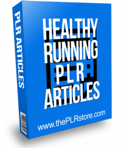 Healthy Running PLR Articles
