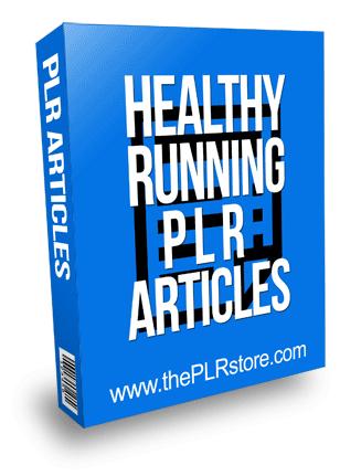 Healthy Running PLR Articles
