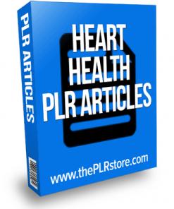 heart health plr articles