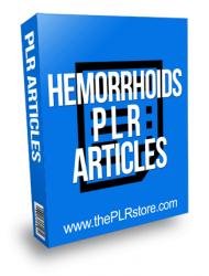 Hemorrhoids PLR Articles