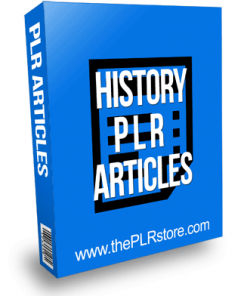 History PLR Articles