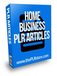 home business plr articles