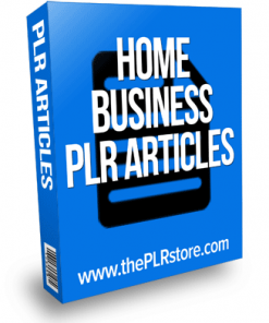 home business plr articles
