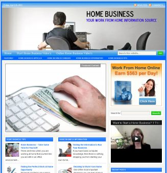 Home Business PLR Website home business plr website main 327x340