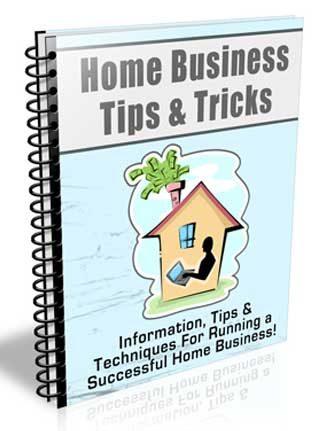 Home Business Tips PLR Autoresponder Messages