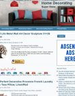 Home Decor PLR Amazon Store Website – Pre-Loaded home decorating plr amazon store main 110x140