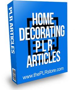 Home Decorating PLR Articles