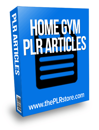 home gym plr articles
