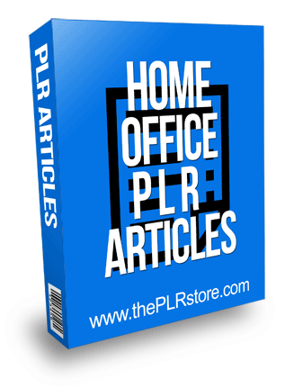 home office plr articles