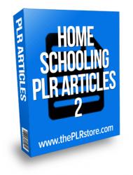 home schooling plr articles