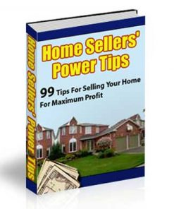 Home Sellers Power Tips PLR Ebook Audio