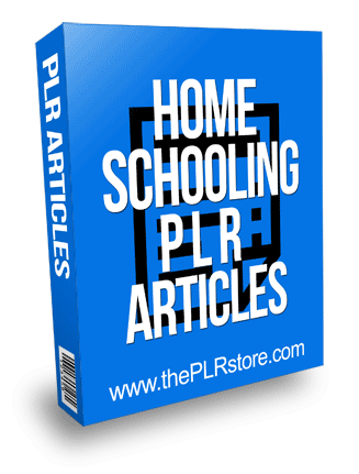 Homeschooling PLR Articles
