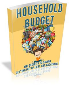 Household Budgeting PLR Ebook