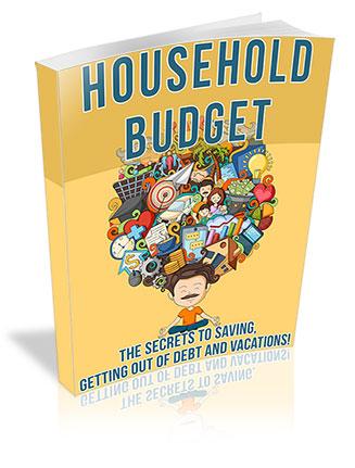 Household Budgeting PLR Ebook