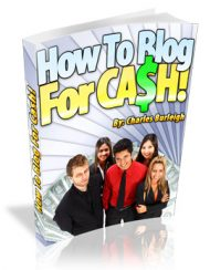 how-to-blog-for-cash-plr-ebook-cover  How To Blog For Cash PLR Ebook how to blog for cash plr ebook cover 190x244