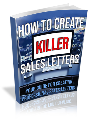 How to Create Killer Sales Letters PLR Ebook
