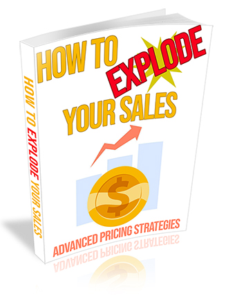 How to Explode Your Sales PLR Ebook
