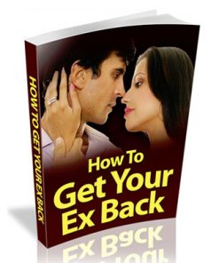 How To Get Your Ex Back PLR Ebook
