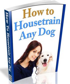 how to housetrain any dog plr ebook