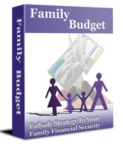 How to Set Up a Family Budget PLR Ebook