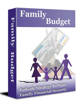 How to Set Up a Family Budget PLR Ebook