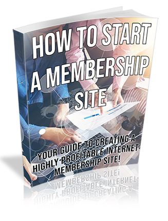 How to Start a Membership Site PLR Ebook