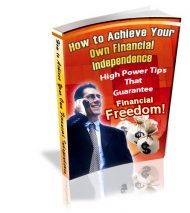 howtoachieveyourownindecover  How to Achieve Your Own Financial Independence PLR eBook howtoachieveyourownindecover 190x213